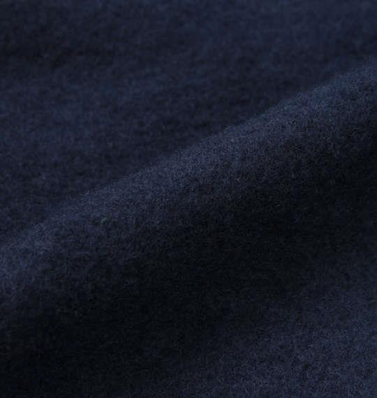 大きいサイズ メンズ ONE PIECE 裏起毛 プルパーカー 長袖 パーカー ネイビー 1168-8361-2 3L 4L 5L 6L 8L