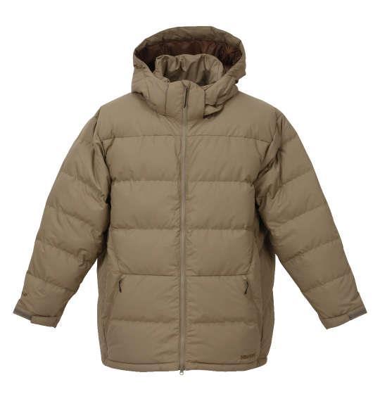 大きいサイズ メンズ Marmot ダウンジャケット アウター ジャンパー ベージュ 1173-8331-1 3L 4L 5L 6L
