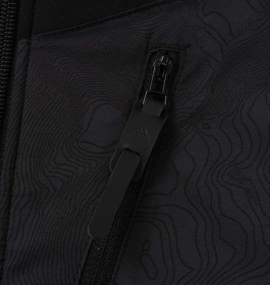 大きいサイズ メンズ adidas golf ウルトラライトニットスウェット ブラック 1178-8331-2 4XO 5XO 6XO 7XO
