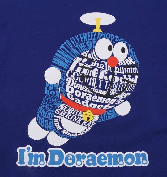大きいサイズ メンズ I'm Doraemon 裏起毛クルートレーナー ロイヤルブルー 1178-8365-2 3L 4L 5L 6L 8L