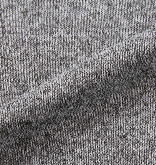 大きいサイズ メンズ PeKo&PoKo ニットフリースサガラ刺繍プルパーカー モクグレー 1178-8391-1 3L 4L 5L 6L 8L