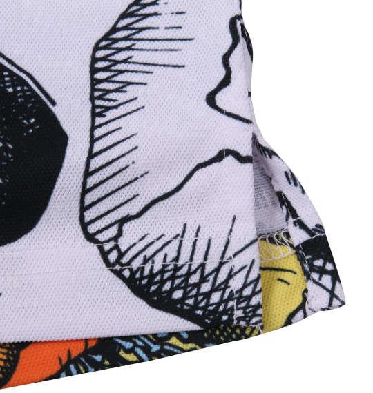 大きいサイズ メンズ LOUDMOUTH 半袖シャツ+インナーセット スカルフラワー × ブラック 1178-8610-1 3L 4L 5L