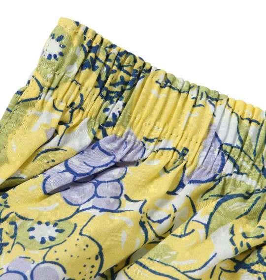 大きいサイズ メンズ MICHIKO LONDON KOSHINO フルーツ柄 トランクス 下着 肌着 インナー 前開き パンツ イエロー系 1149-8390-1 3L 4L 5L 6L 8L
