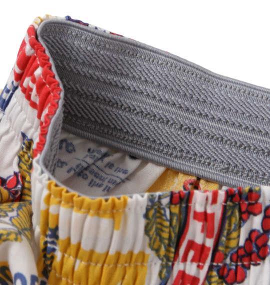 大きいサイズ メンズ MICHIKO LONDON KOSHINO ロゴ ナッツ柄 トランクス 下着 肌着 インナー 前開き パンツ ホワイト系 1149-8391-1 3L 4L 5L 6L 8L