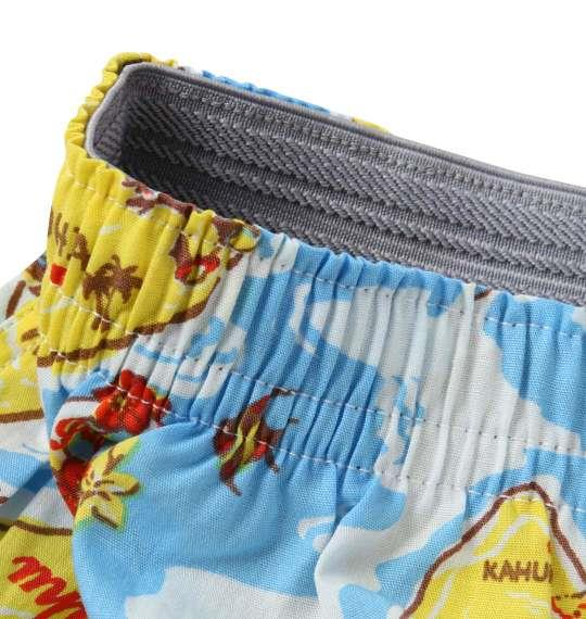 大きいサイズ メンズ MICHIKO LONDON KOSHINO MAP柄 トランクス 下着 肌着 インナー 前開き パンツ ブルー系 1149-8392-1 3L 4L 5L 6L 8L