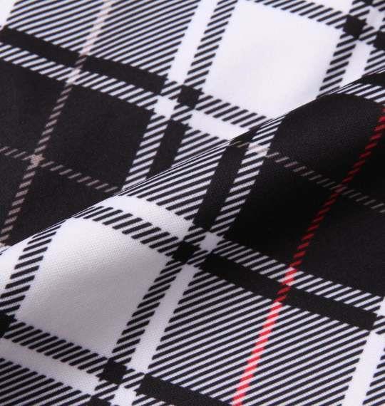 大きいサイズ メンズ FILA GOLF ボンディング チェックパンツ ボトムス ズボン パンツ ホワイト × ブラック 1174-8305-1 100 105 110 115 120 130
