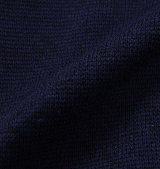 大きいサイズ メンズ BETTY BOOP ニットフリーススタジャンパーカー ネイビー 1178-8635-1 3L 4L 5L 6L