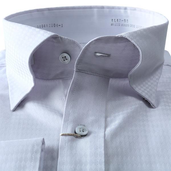 2点目半額 大きいサイズ メンズ DANIEL DODD 形態安定 長袖 Yシャツ 長袖 ワイシャツ ボタンダウン スナップダウン ストレッチ d484az104