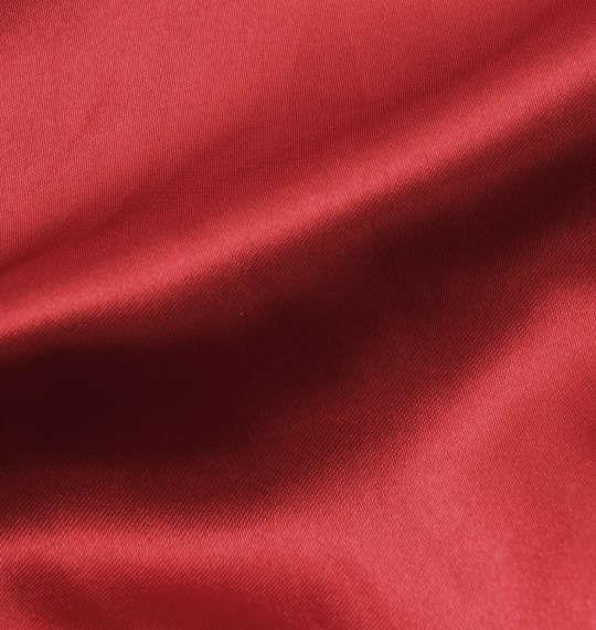 大きいサイズ メンズ LUCPY サテン スカジャン アウター ジャンパー レッド 1153-8320-2 3L 4L 5L 6L