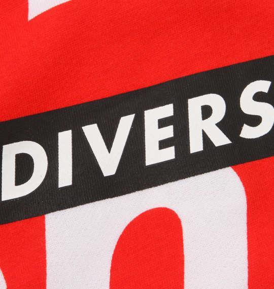 大きいサイズ メンズ b-one-soul ロゴ 総柄 クルーネック スウェット 長袖 レッド 1158-8666-1 3L 4L 5L 6L