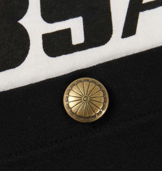 大きいサイズ メンズ BSA MOTORCYCLES 天竺 コンチョ釦 ポケット付 長袖 Tシャツ 長袖Tシャツ オフホワイト 1168-8370-1 3L 4L 5L 6L