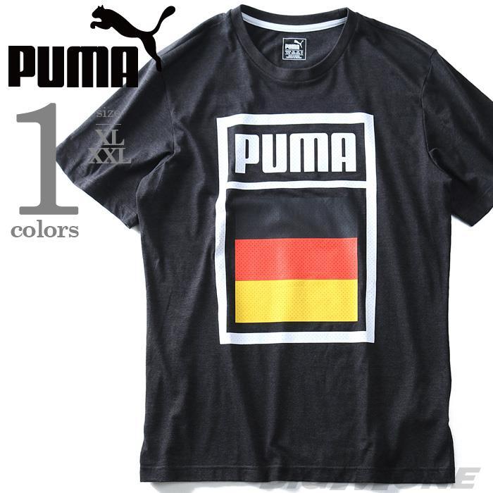 大きいサイズ メンズ PUMA プーマ デザイン 半袖 Tシャツ USA 直輸入 75420803