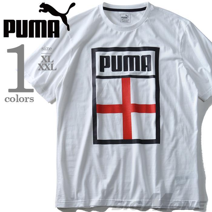 大きいサイズ メンズ PUMA プーマ デザイン 半袖 Tシャツ USA 直輸入 75420809