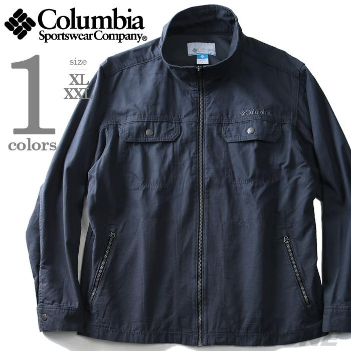 大きいサイズ メンズ Columbia コロンビア ジャケット アウター デザイン コットンジャケット USA 直輸入 xm0037