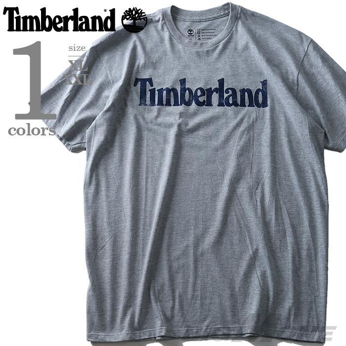 大きいサイズ メンズ TIMBERLAND ティンバーランド 半袖 Tシャツ ロゴ プリント 半袖Tシャツ USA 直輸入 tb0a11gy