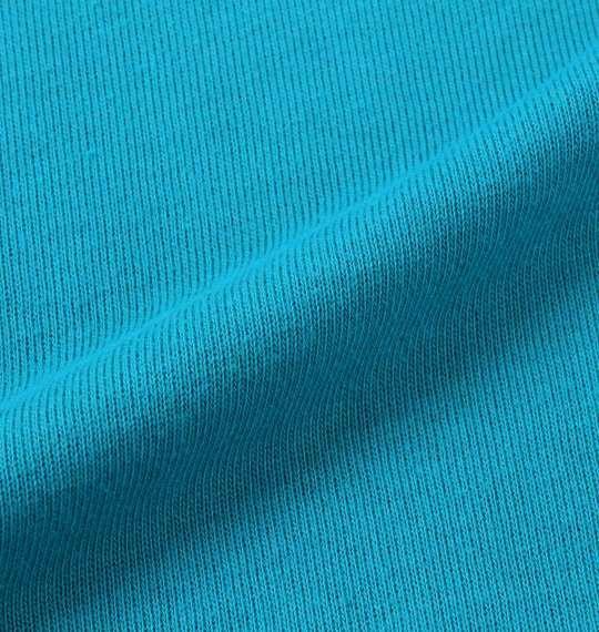 大きいサイズ メンズ LUCPY 裏毛 切替 プルパーカー 長袖 パーカー エメラルドグリーン 1158-8602-2 3L 4L 5L 6L