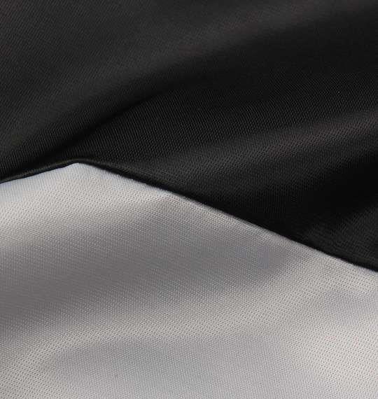 大きいサイズ メンズ Majestic サテン スタジャン アウター ジャンパー ブラック × グレー 1173-8370-2 3L 4L 5L 6L