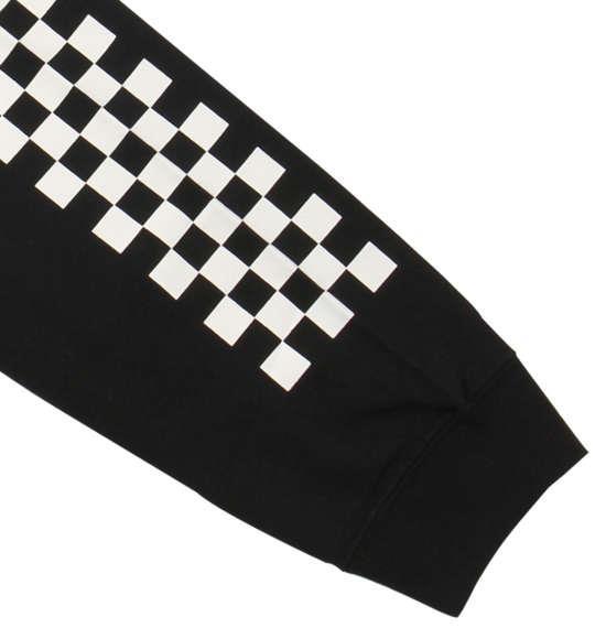 大きいサイズ メンズ VANS 長袖Tシャツ ブラック 1178-8680-2 3L 4L 5L 6L