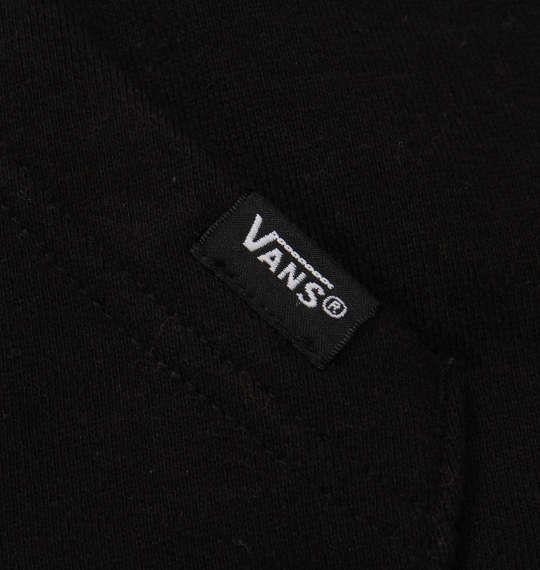 大きいサイズ メンズ VANS プルパーカートレーナー ブラック 1178-8681-2 3L 4L 5L 6L