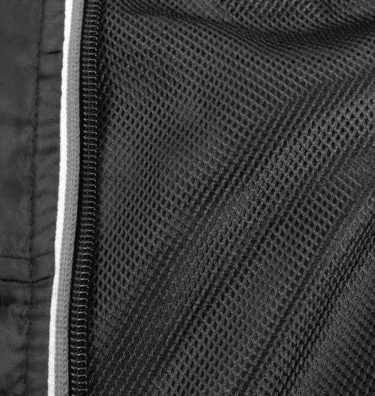 大きいサイズ メンズ OUTDOOR PRODUCTS 裏 メッシュ ウインドブレーカー アウター ジャンパー ブラック 1153-8300-2 3L 4L 5L 6L 8L