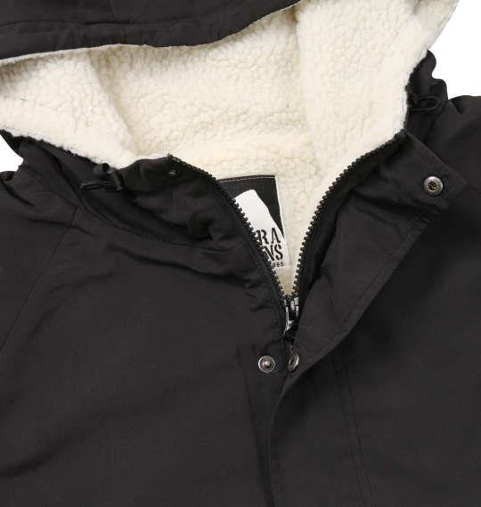 大きいサイズ メンズ SIERRA DESIGNS 裏ボア マウンテンパーカージャケット アウター ジャンパー ジャケット ブラック 1173-8341-2 3L 4L 5L 6L 8L