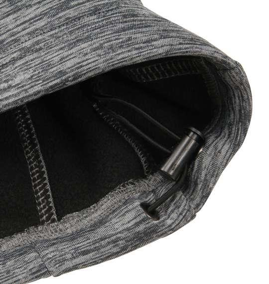 大きいサイズ メンズ Phiten 天竺裏ボンディングフリースジャケット チャコール杢 1178-8621-1 3L 4L 5L 6L 8L
