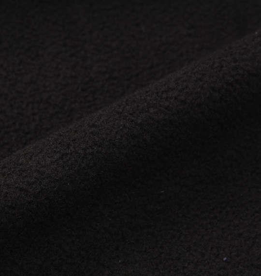 大きいサイズ メンズ Phiten 天竺裏ボンディングフリースジャケット ブラック 1178-8621-2 3L 4L 5L 6L 8L