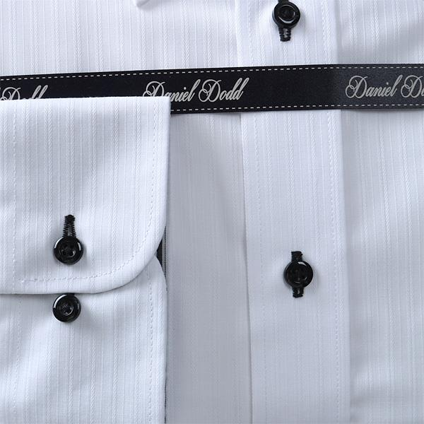 2点目半額 大きいサイズ メンズ DANIEL DODD ビジネス Yシャツ 形態安定 長袖 ワイシャツ ボタンダウン ビジネスシャツ 抗菌防臭 eadn84-2