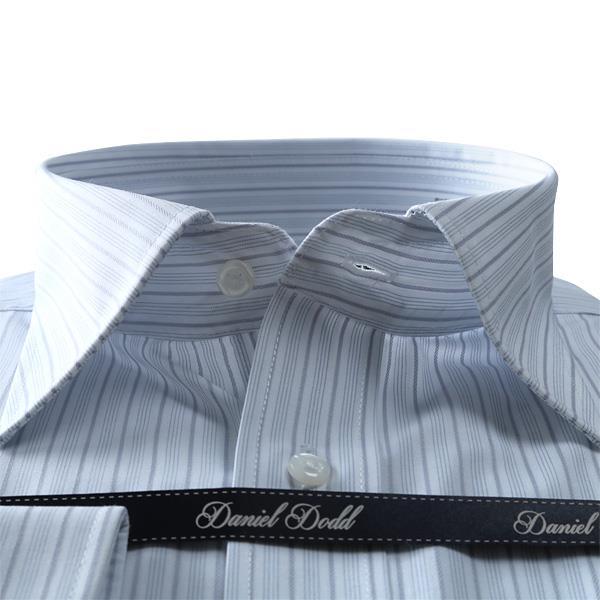 2点目半額 大きいサイズ メンズ DANIEL DODD ビジネス Yシャツ 形態安定 長袖 ワイシャツ レギュラー ビジネスシャツ 抗菌防臭 eadn84-74