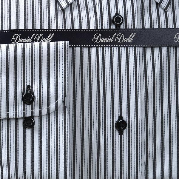 2点目半額 大きいサイズ メンズ DANIEL DODD ビジネス Yシャツ 形態安定 長袖 ワイシャツ ボタンダウン ビジネスシャツ 抗菌防臭 eadn84-83