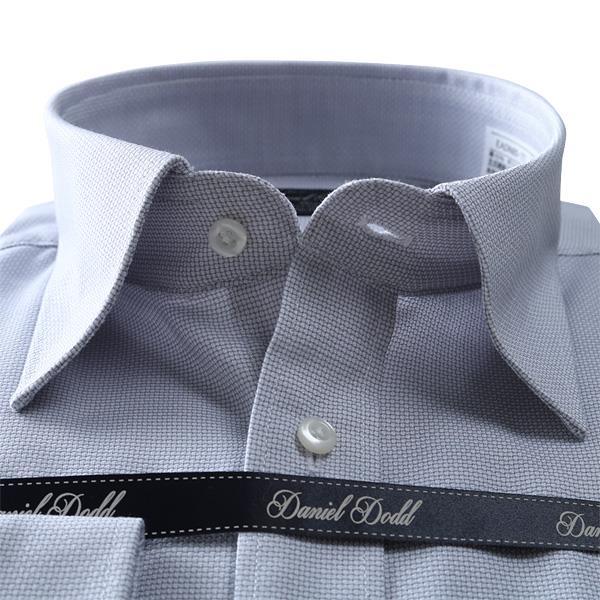 2点目半額 大きいサイズ メンズ DANIEL DODD 形態安定 長袖ワイシャツ レギュラー ストレッチ 秋冬新作 eadn85-77