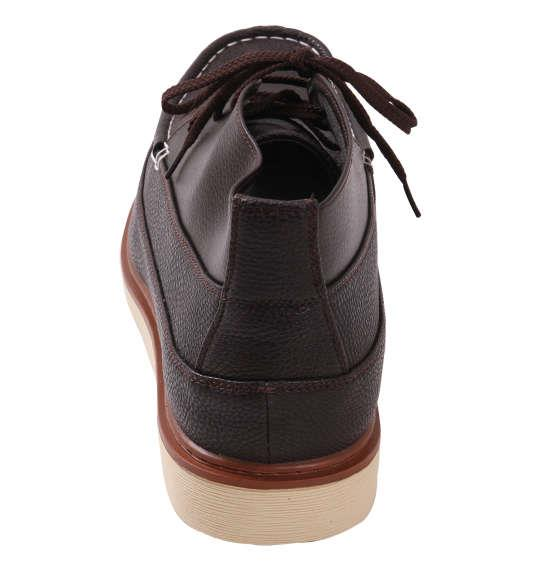大きいサイズ メンズ シューズ 靴BCR ハイカットシューズ ダークブラウン 1140-8311-1 30 31