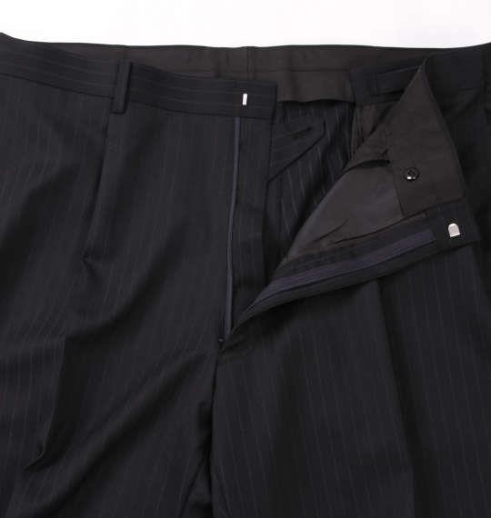 大きいサイズ メンズ MICHIKO LONDON KOSHINO シングル 2ツ釦 スーツ ネイビー 1152-8302-1 4L 5L 6L 7L 8L