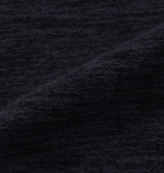 大きいサイズ メンズ Phiten 流し杢フリースクルートレーナー ネイビー 1178-8620-2 3L 4L 5L 6L 8L