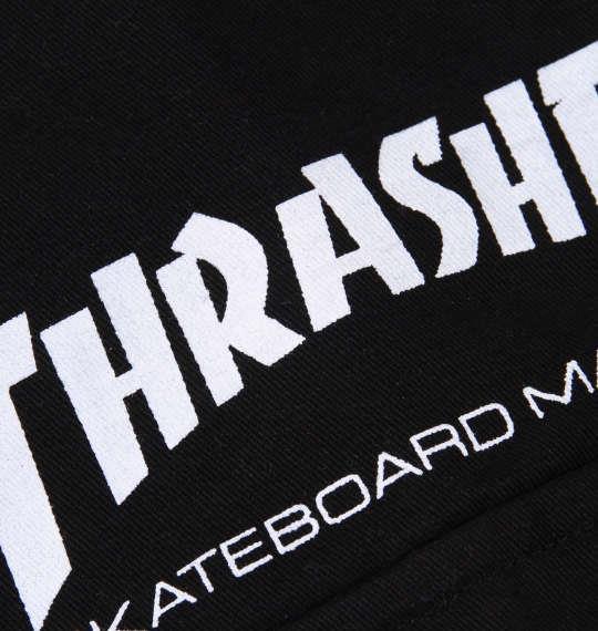 大きいサイズ メンズ THRASHER 長袖ワークシャツ ブラック 1177-8320-2 3L 4L 5L 6L 8L