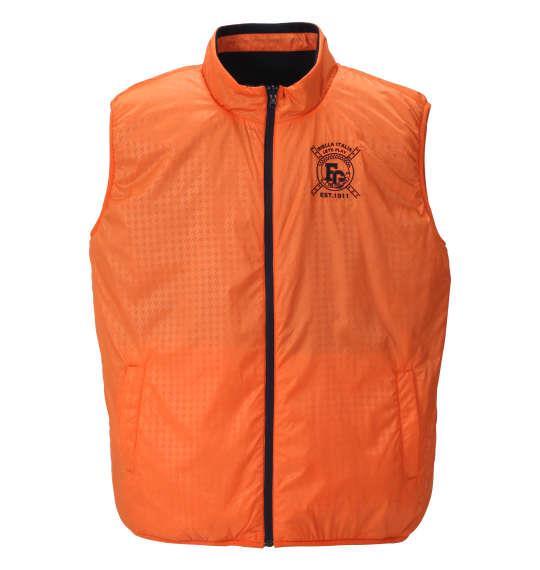 大きいサイズ メンズ FILA GOLF 5WAY ジャケット リバーシブル ネイビー × オレンジ 1173-8325-1 3L 4L 5L 6L