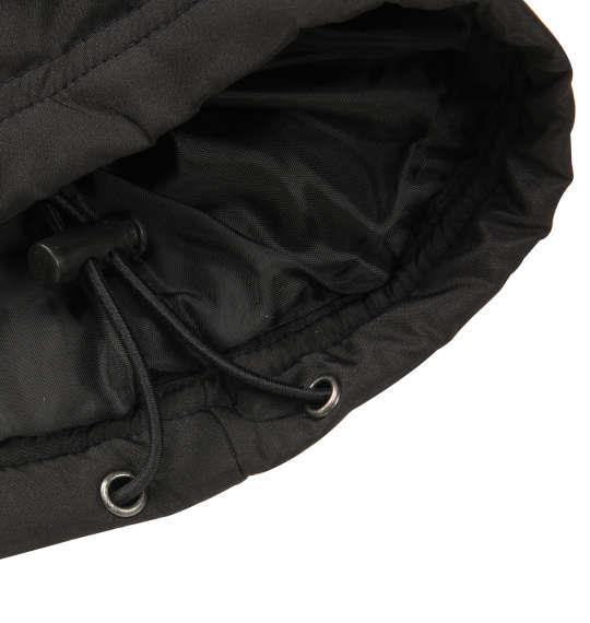 大きいサイズ メンズ LOTTO 中綿 ブレーカー 上下セット セットアップ スポーツ ブラック 1176-8361-2 3L 4L 5L 6L