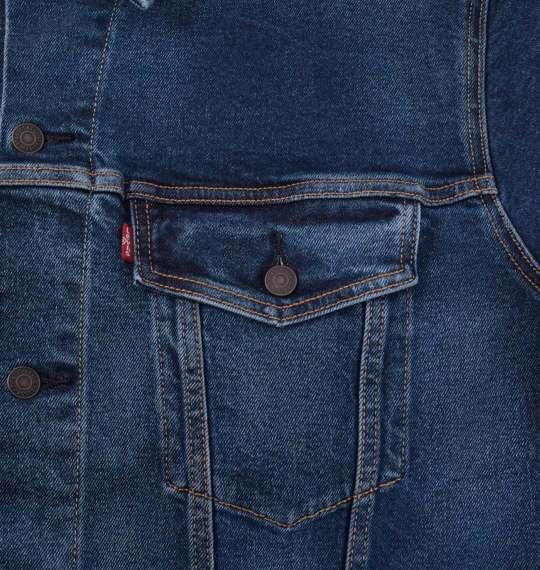 大きいサイズ メンズ Levi's トラッカージャケット デニムジャケット アウター デニム ジャケット ミディアムインディゴ 1173-9131-1 2XL 3XL 4XL 5XL