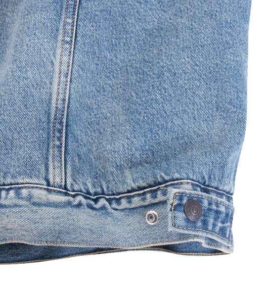 大きいサイズ メンズ Levi's TYPEⅢ シェルパトラッカージャケット アウター デニム ジャケット 裏ボア ライトインディゴ 1173-9132-1 2XL 3XL 4XL