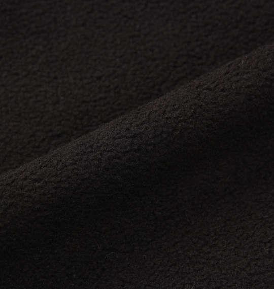 大きいサイズ メンズ LOTTO ハーフジップマイクロフリース ブラック 1178-8345-2 3L 4L 5L 6L