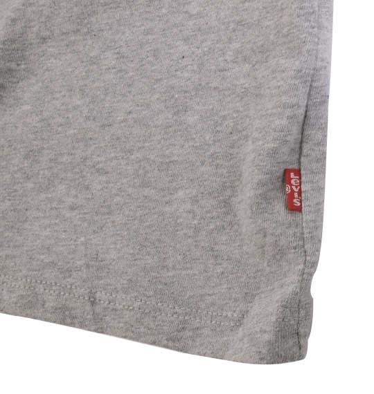 大きいサイズ メンズ Levi's グラフィック半袖Tシャツ モクグレー 1178-9111-2 2XL 3XL 4XL