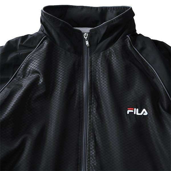 大きいサイズ メンズ FILA フィラ 裏 フリース ウインド ジャケット fm4681