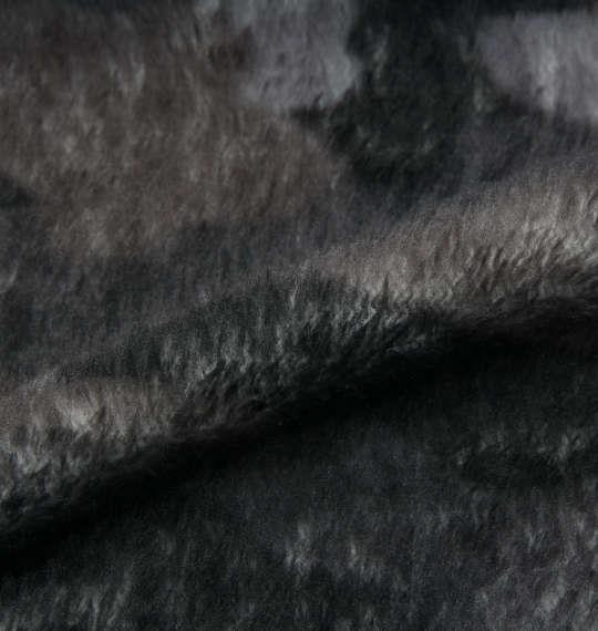 大きいサイズ メンズ KANGOL EXTRA COMFORT プレミアム ふわもこ カモフラ柄 上下セット ブラック カモフラ × ブラック 1159-8301-2 3L 4L 5L 6L