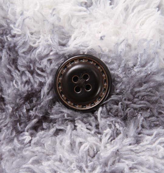 大きいサイズ メンズ KANGOL EXTRA COMFORT ぼあもこ ペンドルトン調 ショールカラー ジャケット 長袖 アウター グレー 1159-8302-1 3L 4L 5L 6L