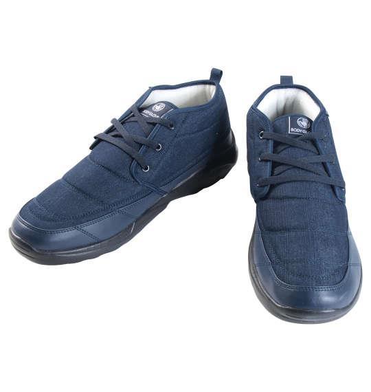 大きいサイズ メンズ BODY GLOVE 防水防滑 スニーカー シューズ 靴 デニム 1140-8331-1 30 31