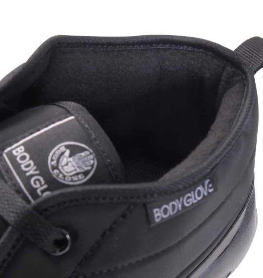 大きいサイズ メンズ BODY GLOVE 防水防滑 スニーカー シューズ 靴 ブラック 1140-8331-2 30 31