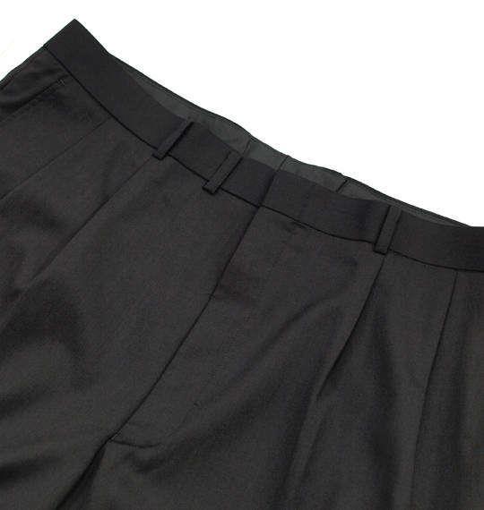 大きいサイズ メンズ Mc.S.P ウォッシャブル ツータック パンツ ボトムス ズボン ブラック 1174-9150-1 105 110 115 120 130 140 150 160