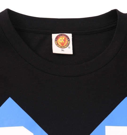 大きいサイズ メンズ 新日本プロレス ゴールデン☆ラヴァーズ半袖Tシャツ ブラック 1178-8377-2 3L 4L 5L 6L 8L