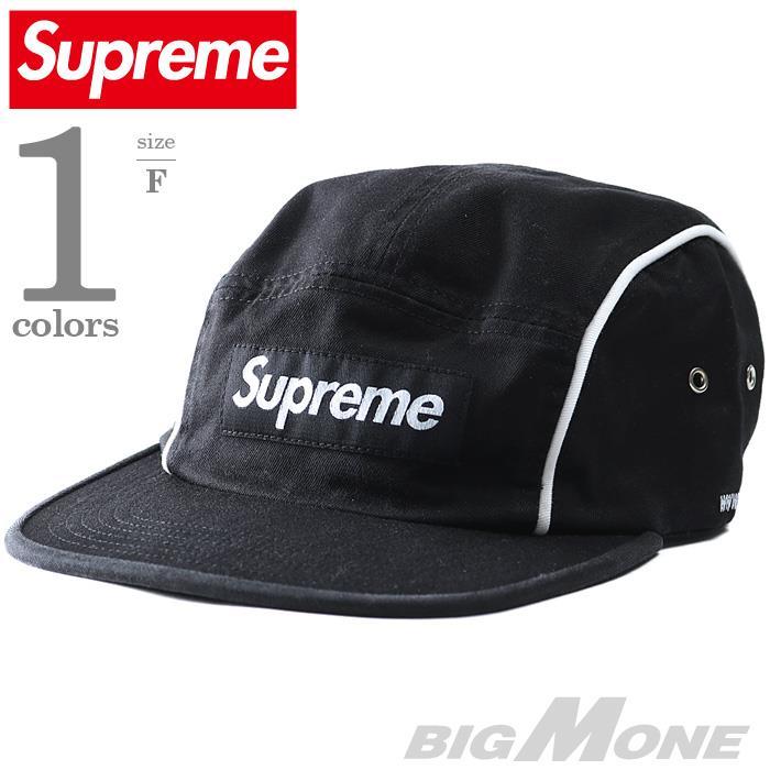 メンズ SUPREME シュプリーム パイピング キャップ 帽子USA 直輸入 fw18h30
