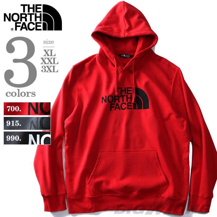 大きいサイズ メンズ THE NORTH FACE (ザ ノース フェイス) ロゴプリントプルパーカー USA直輸入 nf0a3fr1